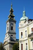 Europe Architecture Details - Belgrade Cathedral poster