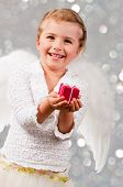stock photo of little angel  - Christmas - JPG