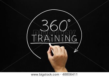 360 Degrees Training Concept