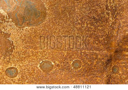 Tin Rust Stains Background