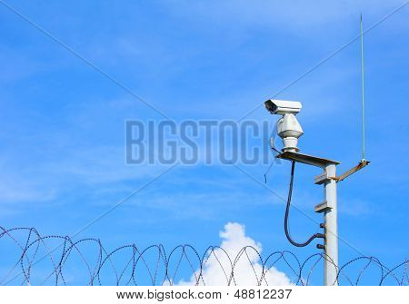 Weather proof surveillance camera