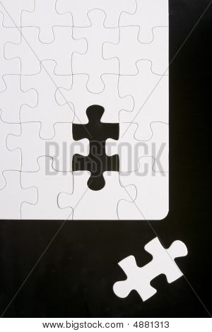 Puzzle With Piece Removed
