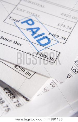 Pagadas de facturas