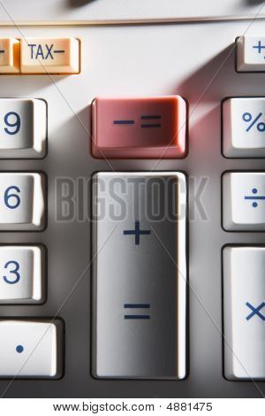 Close-up Of Calculator