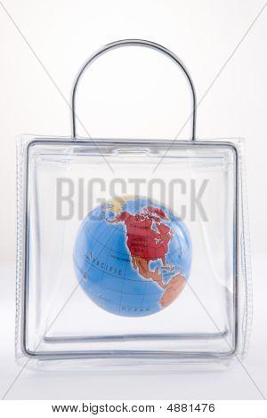 Globe In A Plastic Bag