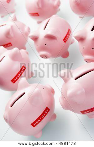 Accumulation Of Piggy Banks