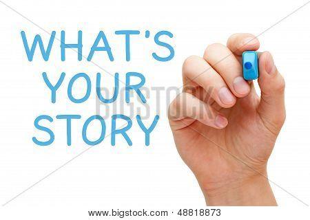 Was ist Ihre Geschichte