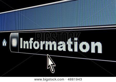 Internet Information Concept