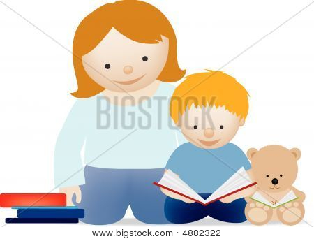 Mum And Child Read