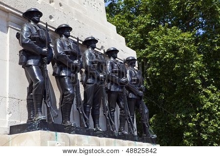 Guards Memorial At Horse Guards Parade In London