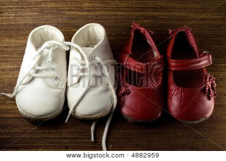 Worn Baby Shoes