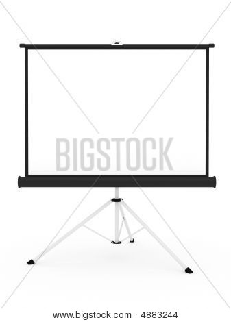 Projector Screen On Tripod