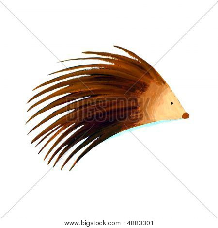 Abstract Porcupine