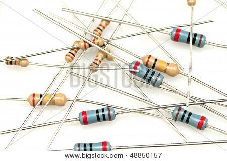 Close Up Resistors