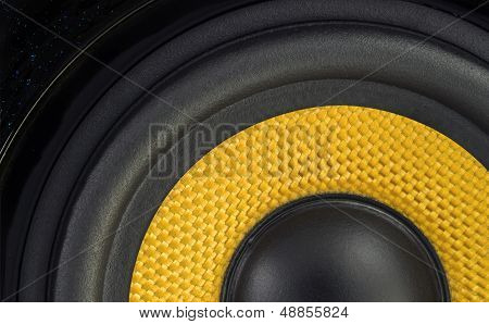 Audio Speaker Detail Background