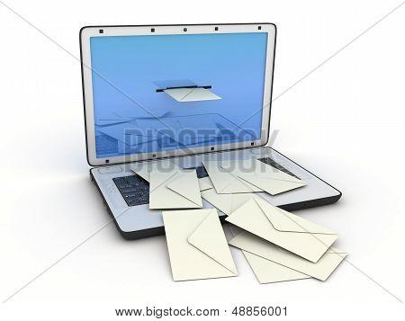 Laptop E-mail