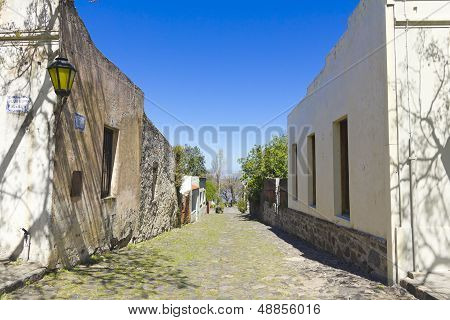 Old Colonial Street, Uruguay