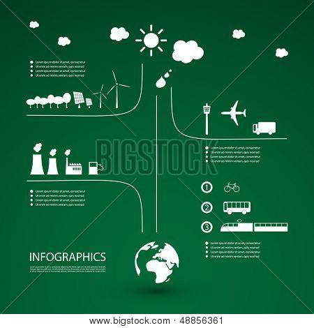 Eco Infpgraohic Design