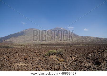 Volcanic landscape on Tenerife