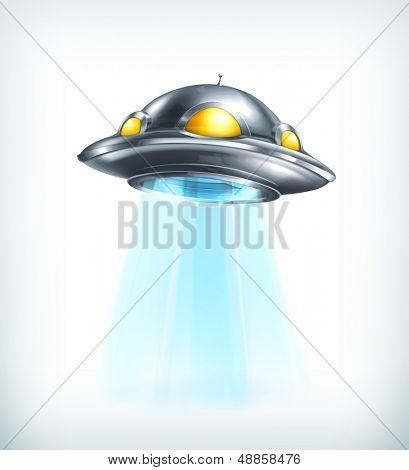 UFO vector icon