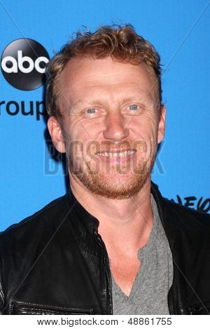 LOS ANGELES - AUG 4:  Kevin McKidd arrives at the ABC Summer 2013 TCA Party at the Beverly Hilton Hotel on August 4, 2013 in Beverly Hills, CA