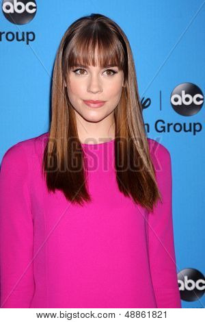 LOS ANGELES - AUG 4:  Christa B. Allen arrives at the ABC Summer 2013 TCA Party at the Beverly Hilton Hotel on August 4, 2013 in Beverly Hills, CA