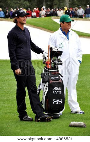 Adam Scott no Masters de 2009