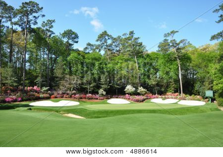 13Th Green At Masters
