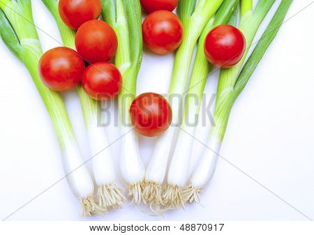 Cherries And Onions