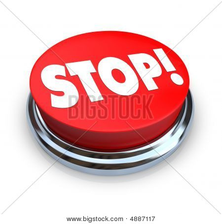 Stop - Red Button