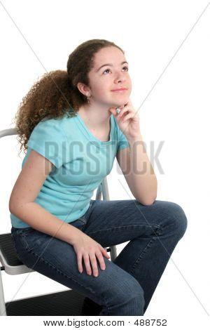 Contemplative Teen