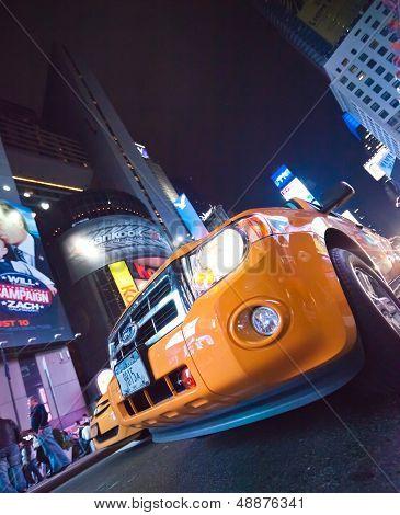New York City, Usa-Times Square