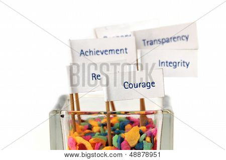 Business Core Value, Business Strategy, Key Success Factor, Mission, Vision