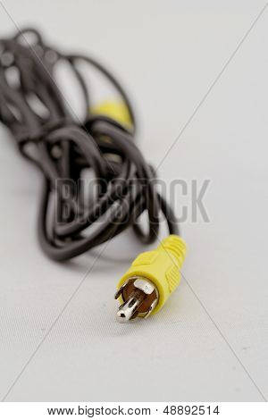 Yellow Rca Cable