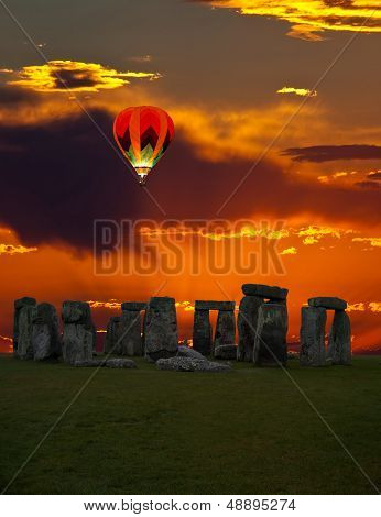 The Famous Stonehenge In England