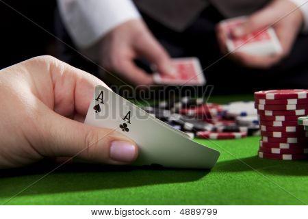 Texas Holdem Ace Pair