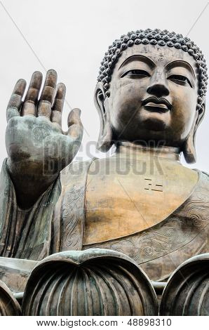 Tian Tan, Big Buddha, Bronze Statue