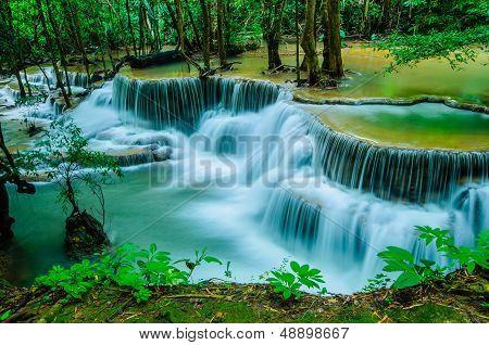Waterfall, Huay Mae Khamin, Thailand