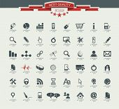 stock photo of medical chart  - Quality icon Set  - JPG