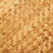 image of tan lines  - A old straw background basket weave texture - JPG