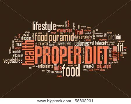 Proper Diet