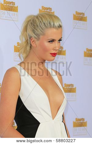 LOS ANGELES - JAN 14:  Ireland Baldwin at the 50th Sports Illustrated Swimsuit Issue at Dolby Theatre on January 14, 2014 in Los Angeles, CA