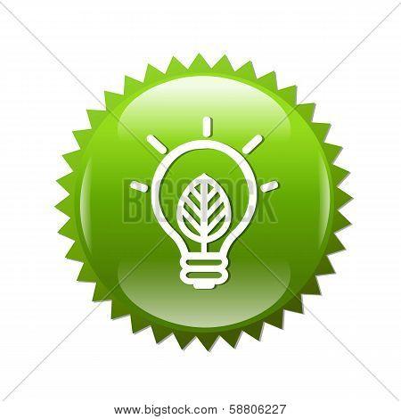 Green Symbols Lamp