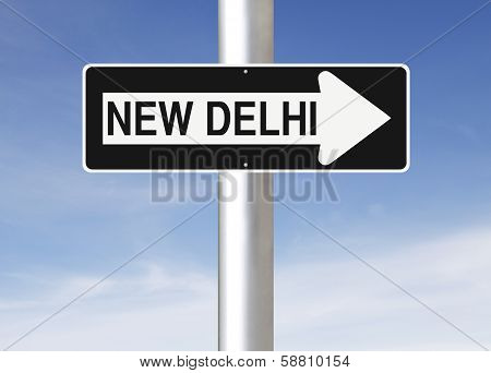 This Way to New Delhi