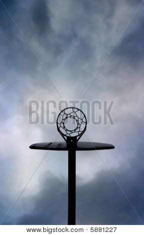 Outdoor Basketball Chain Net Backboard