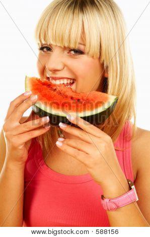 Happy Women mit Früchten
