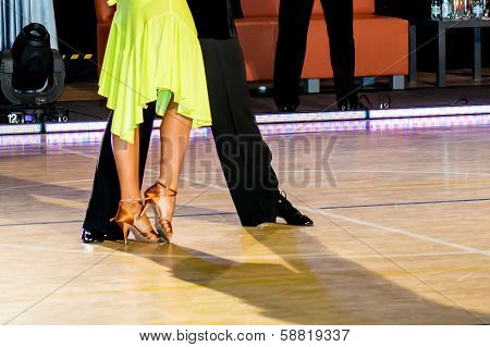Couple Dancing Latin Dance