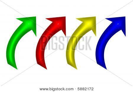 Upward Arrows