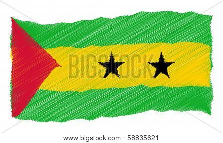 Sketch - Sao Tome And Principe