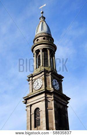 Architectural detail in Edinburgh, Scotland
